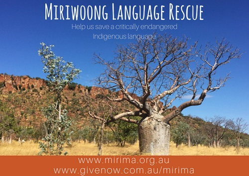 Miriwoong Language Rescue