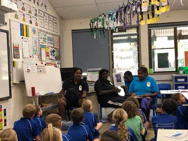 A Miriwoong Language Nest session