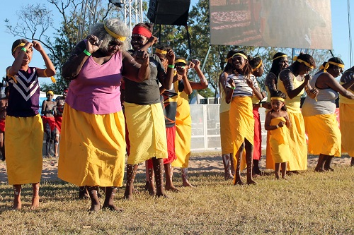 Some of the wonderful female Mirima Dancers